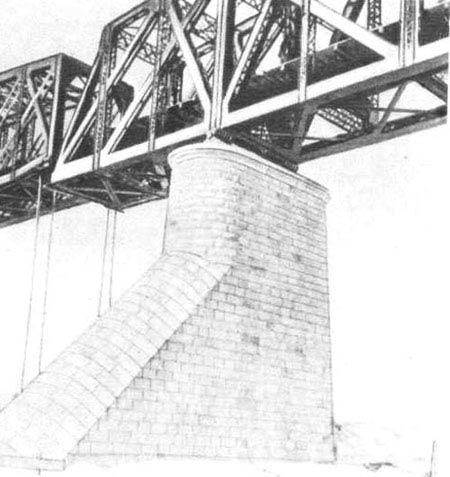 Со строительством моста было связано