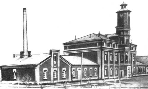 Военно-сухарный завод за р. Первой Ельцовкой