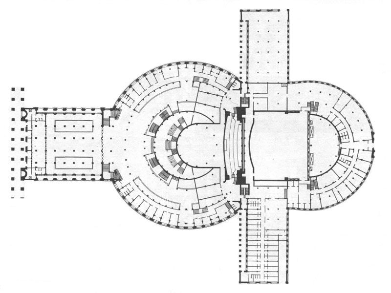 Театр Оперы и Балета: План