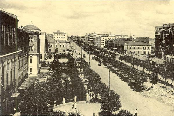 Новосибирск красный проспект вид из
