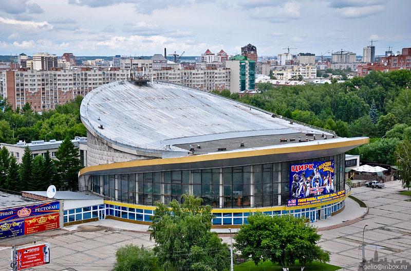 Цирк. Новосибирск. Фото: