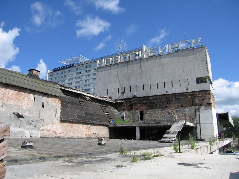 Речной вокзал. Новосибирск 2007