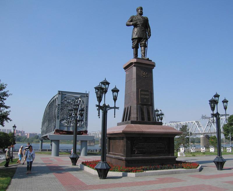 Памятник императору александру iii в