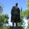 Памятник Кирову в парке Кирова. Новосибирск