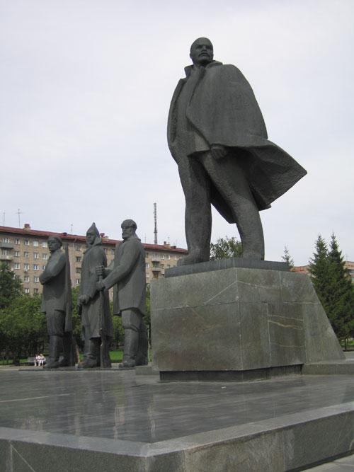 Ленин на ленина новосибирск