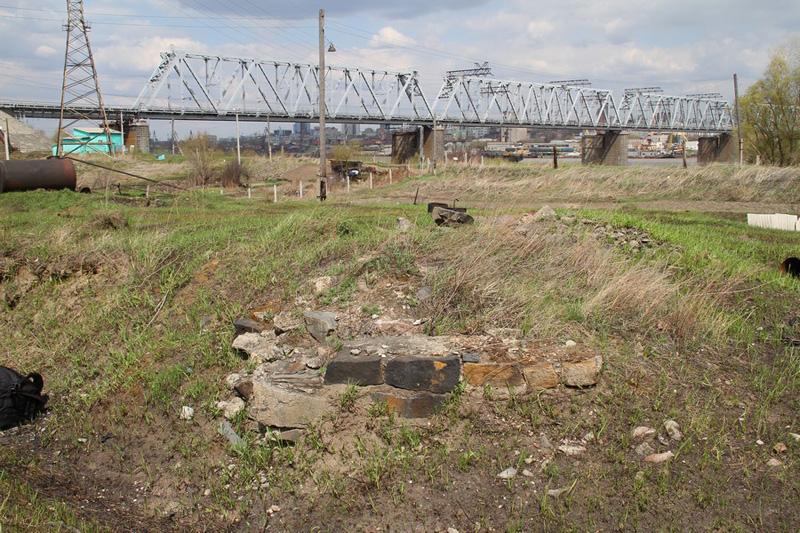 место изначальной деревни Кривощеково