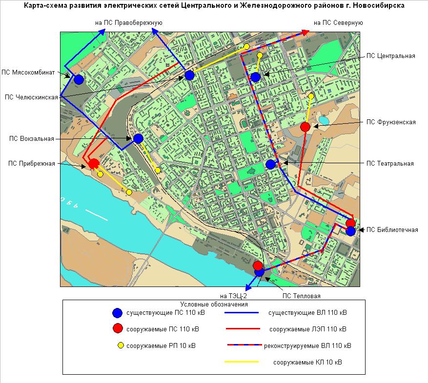 Карта-схема развития