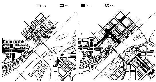Новосибирск. Схема проекта