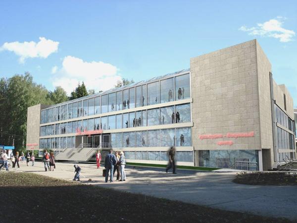 Проект реконструкции ДК «Академия» в новосибирском Академгородке. 2007