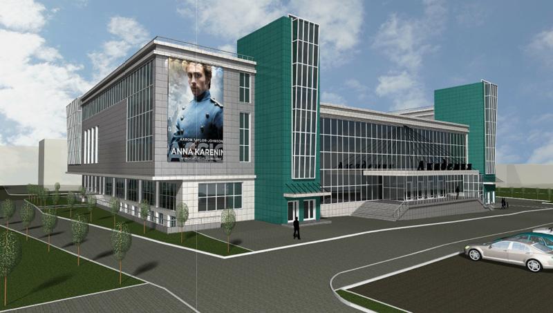 Проект реконструкции ДК «Академия» в новосибирском Академгородке. ООО «Проект-Согласование». Вариант 1