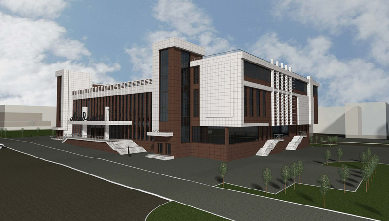 Проект реконструкции ДК «Академия» в новосибирском Академгородке. ООО «Проект-Согласование». Вариант 2