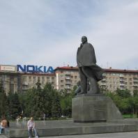 Заповедный город Новосибирск: Ленин в Финляндии