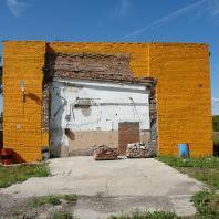 Заповедный город Новосибирск: Административное здание новосибирского крематория