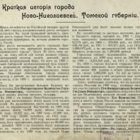 Виды города Ново-Николаевска. 1895-1913. Товарищество художественной печати. С.-Петербург. 1914