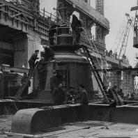 Строительство Новосибирской ГЭС
